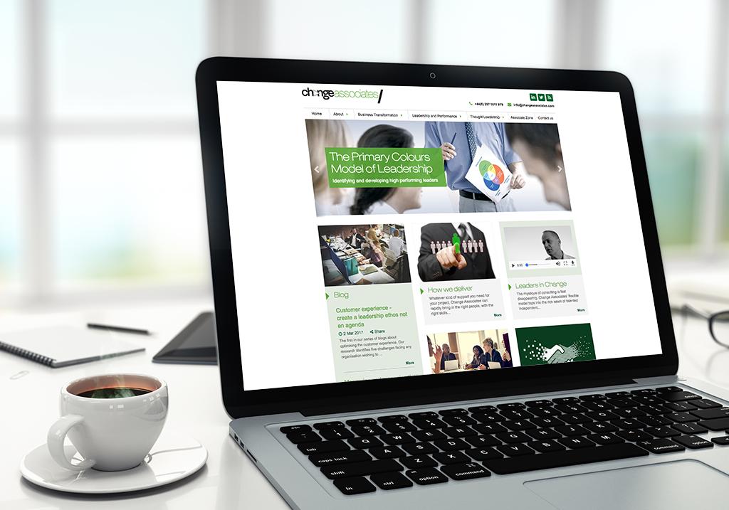Change Associates website screenshot